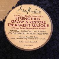 SheaMoisture Strengthen, Grow & Restore Treatment Masque, Jamaican Black Castor Oil, 12 oz uploaded by LoMare M.