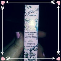 Too Faced La Crème Lipstick uploaded by Rikka I.