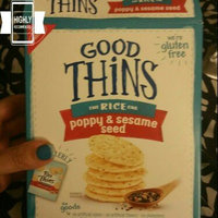 Good Thins Poppy & Sesame Seed Rice Snacks 3.5 oz. Box uploaded by Lauren G.