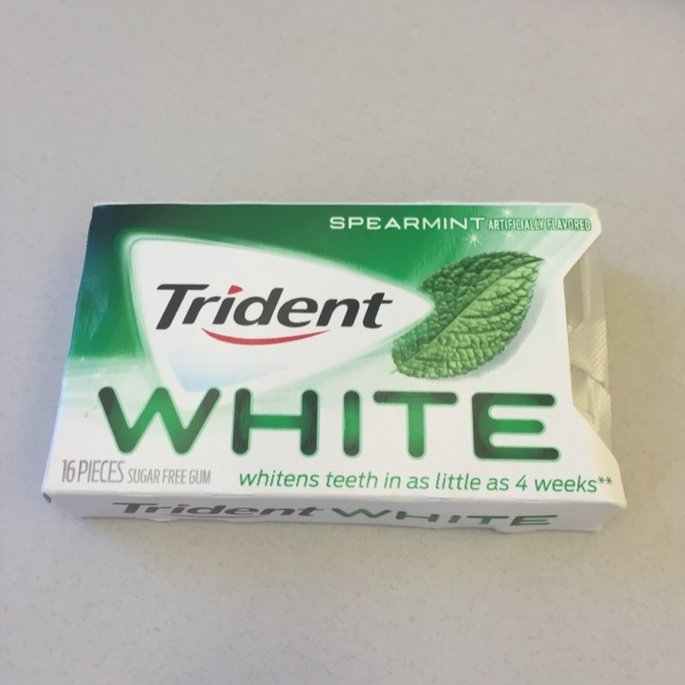 Trident Spearmint Sugar Free Gum uploaded by Kait R.