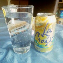 Photo of La Croix Sparkling Lemon Water uploaded by Miriam B.