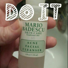 Photo of Mario Badescu Travel Size Acne Facial Cleanser uploaded by AnnMarie W.