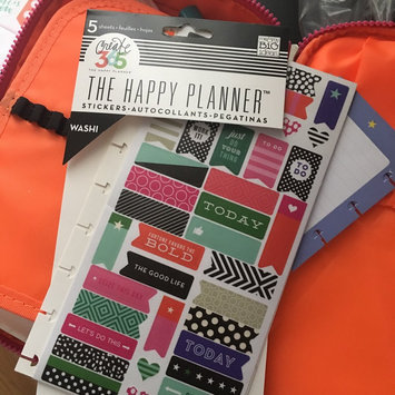 Photo of Create 365 Planner Stickers 5 Sheets/Pkg-Bold - Washi uploaded by April a.