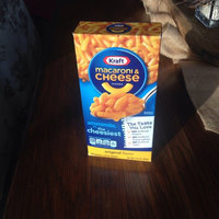 Kraft White Cheddar Macaroni & Cheese Dinner 7.3 oz. Box uploaded by whitney l.