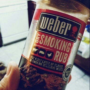 Weber Dry Smoking Rub, 15.25 oz uploaded by Teresa M.