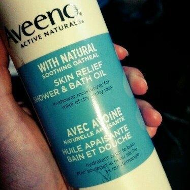 Aveeno® Aveeno Aveeno Active Naturals Skin Relief Moisturizing Shower Bath Oil uploaded by Adrienne M.