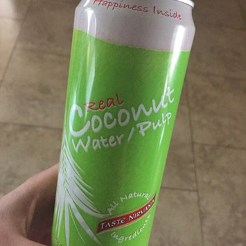 Photo of Taste Nirvana Real Coconut Water with Pulp - 16 fl oz uploaded by Jessica S.