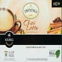 Twinings® Chai Latte Sweetened Black Tea K-Cup uploaded by Cortney B.