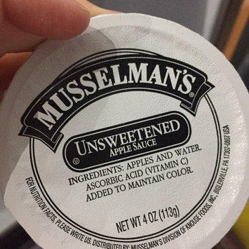 Photo of Musselman's Natural Unsweetened No Sugar Added Apple Sauce uploaded by Alicia B.