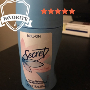 Photo of SECRET Scrt RllOnDeo PwdrFshSct 2.2oz uploaded by Grizette M.