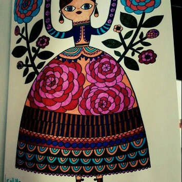 Crayola Adult Coloring Book - Folk Art Escapes uploaded by Lauren B.