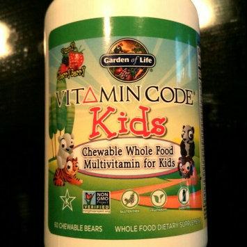 Photo of Garden of Life Vitamin Code Kids Multivitamin uploaded by Elena S.