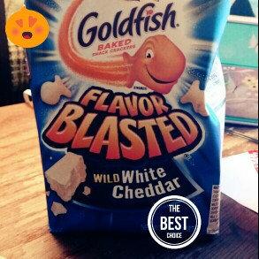 Pepperidge Farm Goldfish Flavor Blasted Wild White Cheddar Snack Crackers uploaded by Heidi H.