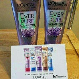 Photo of L'Oréal Paris EverPure Volume Shampoo uploaded by Dani L.