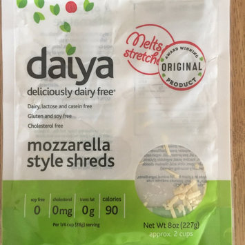 Daiya Deliciously Dairy Free Mozzarella Style Shreds uploaded by Marisol G.