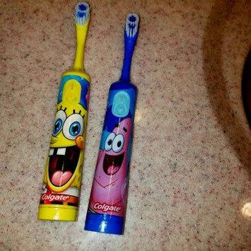 Photo of Spongebob Squarepants Battery Powered Turbo Spin Brush & ACT Anticavity Kids' SpongeBob Mouthwash, 16.9 oz uploaded by Sherehan M.