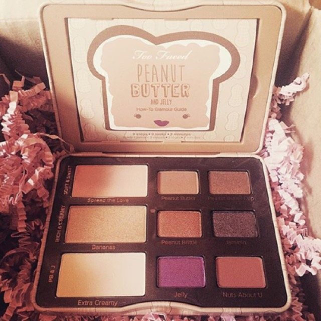 Too Faced Peanut Butter And Jelly Eye Shadow Collection