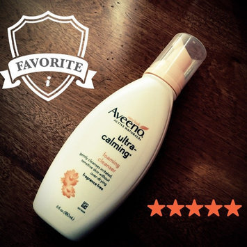 Photo of Aveeno® Ultra-Calming Foaming Cleanser For Sensitive Skin uploaded by Paula M.