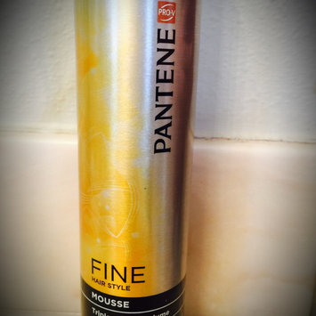 Photo of Pantene Pro-V Fine Hair Style Volume Triple Action Hair Mousse, 6.6 oz uploaded by Danni T.