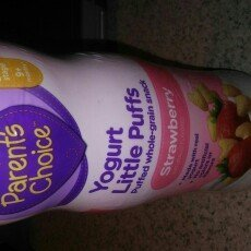Parent's Choice Yogurt Little Puffs Strawberry Puffed Whole Grain Snack, 1.48 oz uploaded by Nalia R.