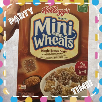 Photo of Kellogg's Frosted Mini-Wheats Maple Brown Sugar Cereal uploaded by Tessa L.