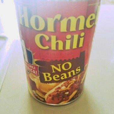 Hormel Chili No Beans uploaded by Prashika S.