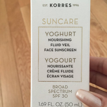 Photo of Korres Suncare Yoghurt Nourishing Fluid Veil Face Sunscreen Broad Spectrum SPF 30 1.69 oz uploaded by Farren Joy R.