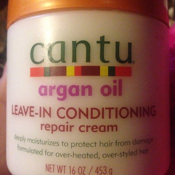 Cantu Argan Oil Leave In Conditioning Repair Cream uploaded by Sarahh A.