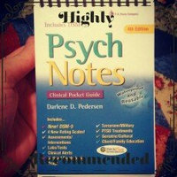 PsychNotes: Clinical Pocket Guide, 4th Edition (Davis's Notes) uploaded by Kayla H.
