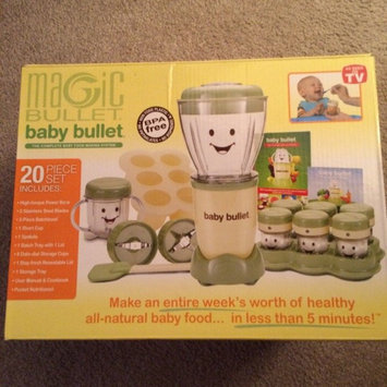 Baby Bullet by Magic Bullet Complete Baby Food Prep System uploaded by Charlotte D.