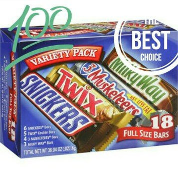Photo of Mars Full Size Bars Variety Pack uploaded by Julie N.