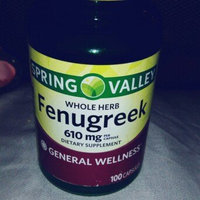 Spring Valley Natural Whole Herb 610mg Fenugreek Capsules uploaded by Amethyst V.