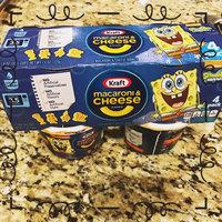 Kraft SpongeBob Shapes Macaroni & Cheese Dinner 4-1.9 oz. Microcups uploaded by Andrea C.