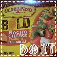 Old El Paso® Stand 'n Stuff Nacho Cheese Flavored Taco Shells uploaded by Jessica A.