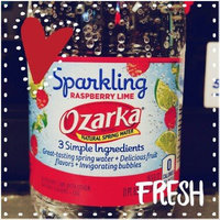 Ozarka® Sparkling Raspberry Lime Natural Spring Water uploaded by Sarah L.