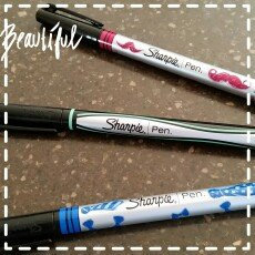 Photo of Sharpie Fashion Assortment Fine Tip Marker Pen (5ct) uploaded by Samantha P.