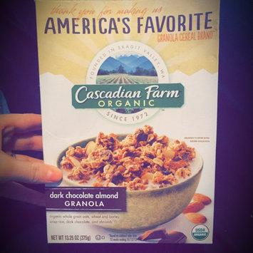 Photo of Cascadian Farm Organic Dark Chocolate Almond Granola uploaded by Regan G.
