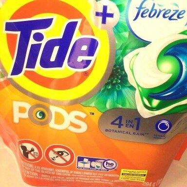 Tide Pods Plus Febreze uploaded by Maria G.