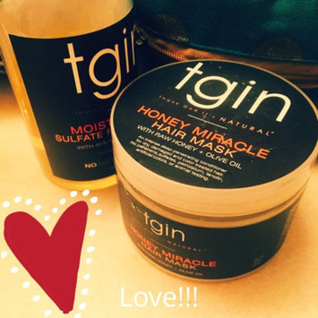 Photo of tgin Honey Miracle Hair Mask Deep Conditioner - 12 oz uploaded by LACHELLE B.