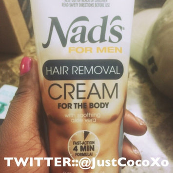 Nads Nad's for Men Hair Removal Cream for the Body, 6.8 fl oz uploaded by Brianna E.