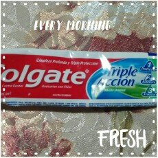 Photo of Colgate Triple Action Toothpaste uploaded by Mariangel C.