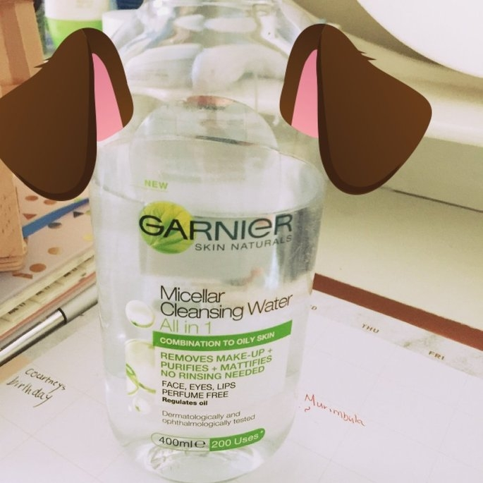 Garnier Micellar Cleansing Water for Combination & Sensitive Skin uploaded by Georgia G.