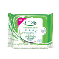 Simple Oil Balancing Cleansing Wipes uploaded by Malin L.