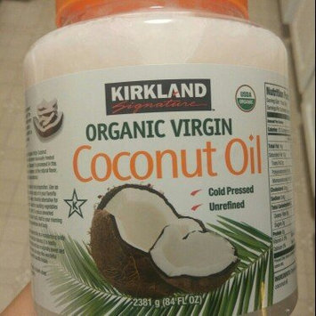 Photo of Kirkland Signature Organic Virgin Coconut Oil Cold Pressed Unrefined 42.3 Fl oz uploaded by Kristin B.