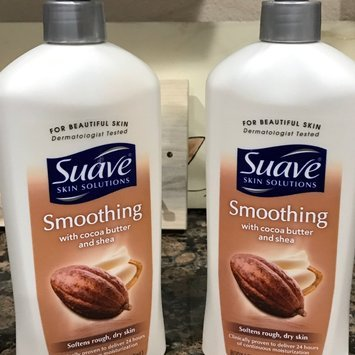 Suave® Skin Solutions Smoothing Body Lotion with Cocoa Butter & Shea uploaded by Tammy M.