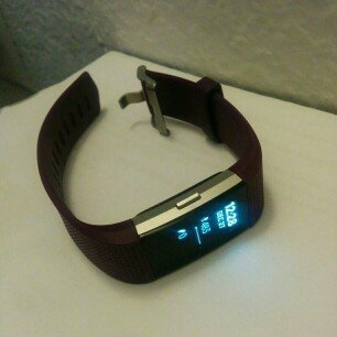 Photo of Fitbit Charge 2 Heart Rate and Fitness Wristband uploaded by Kristen J.
