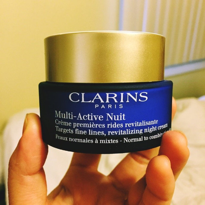 Clarins Multi-Active Normal To Dry Skin Night Cream