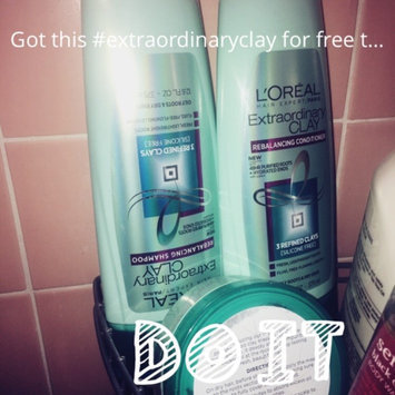 L'Oréal Extraordinary Clay Rebalancing Conditioner uploaded by Rosanne G.