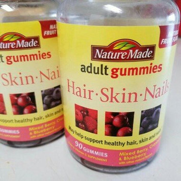 Photo of Nature Made Adult Gummies Hair-Skin-Nails Mixed Berry Cranberry & Blueberry 90 Gummies uploaded by Prashika S.