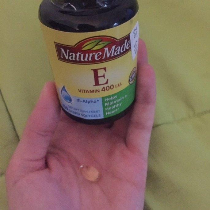 Nature Made E Vitamin 400 IU Liquid Softgels - 300 CT uploaded by Elizabeth M.